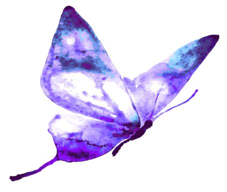 hypnose et papillon